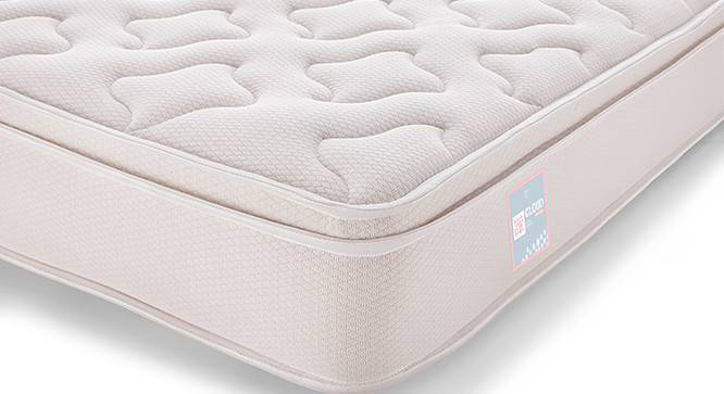 Cloud Eurotop Pocket Spring Mattress with Latex (King Mattress Type, 78 x 72 in (Standard) Mattress Size, 7 in Mattress Thickness (in Inches)) by Urban Ladder