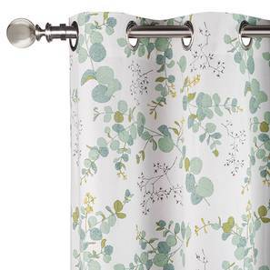 """Wilderness Curtain - Set Of 2 (54"""" x 108"""" Curtain Size, Branching Free Pattern) by Urban Ladder"""