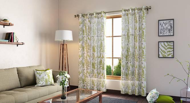 """Wilderness Curtain - Set Of 2 (54"""" x 108"""" Curtain Size, Wild Fern Pattern) by Urban Ladder"""