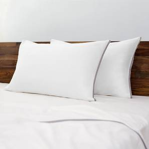 Serena 300 TC Sateen Bedsheet Set (Double Size, Ivory White) by Urban Ladder