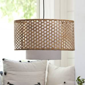 Kanabera Hanging Lamp (Natural) by Urban Ladder