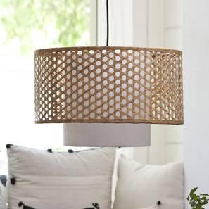 Kanabera Hanging Lamp (Natural) by Urban Ladder