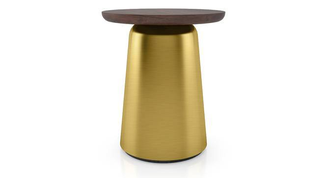 Ebisu Side Table (Brass, Small Size) by Urban Ladder