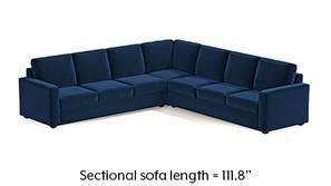 Apollo Corner Sofa (Cobalt)