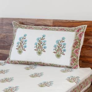 Lorea Bedsheet Set (Single Size, Multi Colour) by Urban Ladder