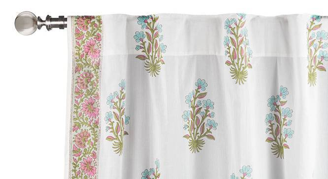 "Lorea Curtain - Set Of 2 (Window Curtain Type, Multi Colour, 54"" x 60"" Curtain Size) by Urban Ladder"