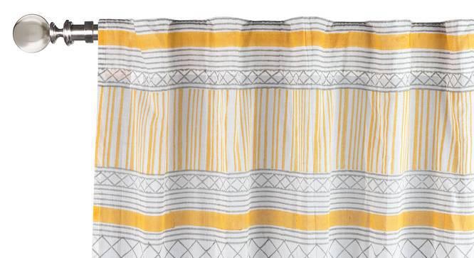 "Raina Curtain - Set Of 2 (Door Curtain Type, Multi Colour, 54"" x 108"" Curtain Size) by Urban Ladder"