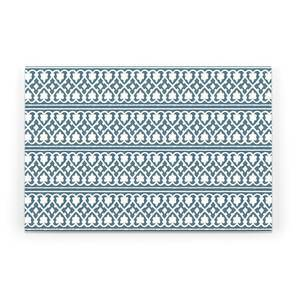 "Kalina Table Mats - Set of 6 (Blue, 12"" x 18"" Table Linen Size) by Urban Ladder"