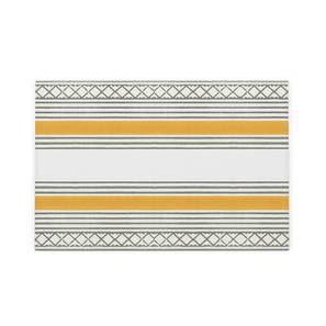 "Raina Table Mats - Set of 6 (12"" x 18"" Table Linen Size, Multi Colour) by Urban Ladder"