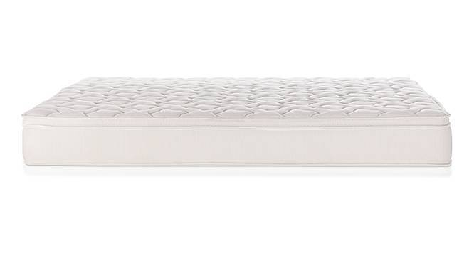 Cloud Eurotop Pocket Spring Mattress with Latex (King Mattress Type, 7 in Mattress Thickness (in Inches), 72 x 72 in Mattress Size) by Urban Ladder