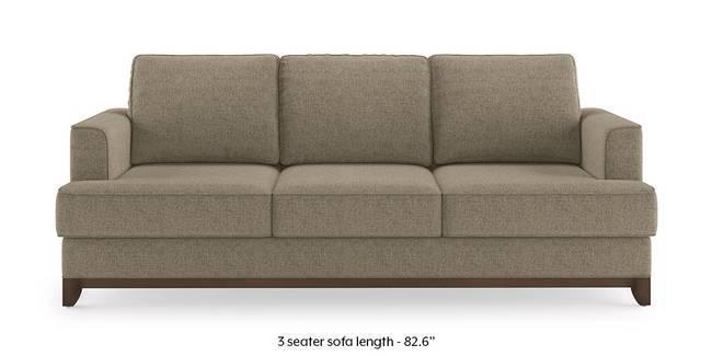 Halden Sofa (Mist Brown) (1-seater Custom Set - Sofas, None Standard Set - Sofas, Mist, Fabric Sofa Material, Regular Sofa Size, Regular Sofa Type)