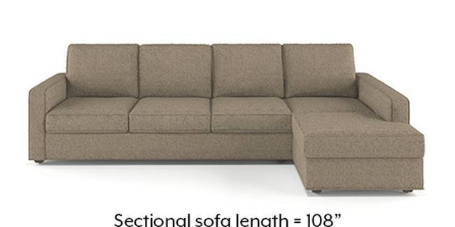 Apollo Sofa Set (Mist, Fabric Sofa Material, Regular Sofa Size, Soft Cushion Type, Sectional Sofa Type, Sectional Master Sofa Component)