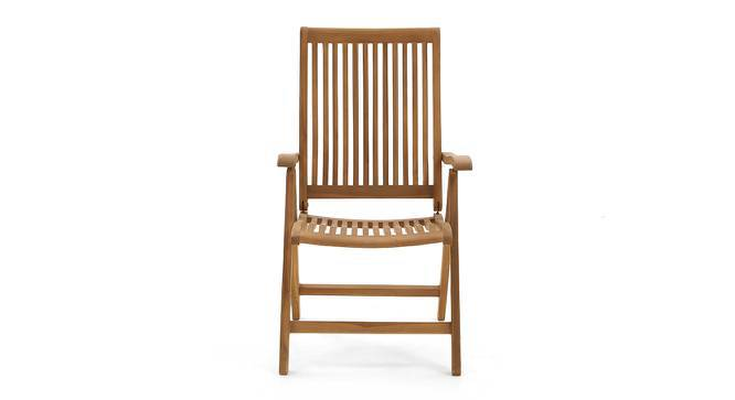 Carrillo Recliner Chair (Teak Finish) by Urban Ladder