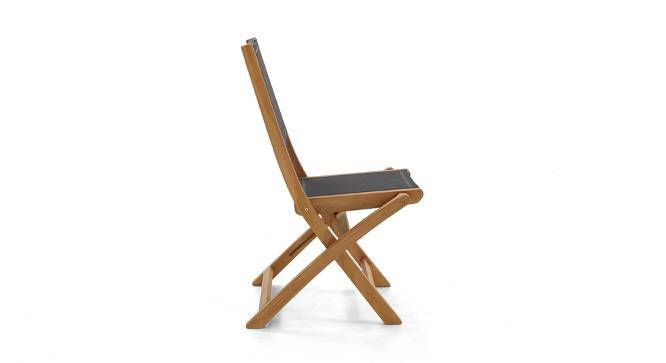 Tellaro Folding Chair (Teak Finish) by Urban Ladder