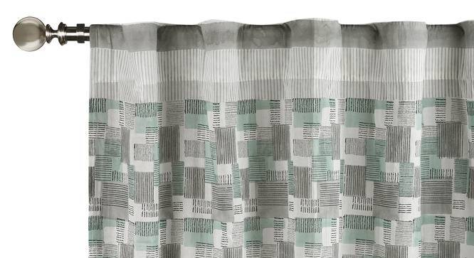 "Lara Curtain - Set Of 2 (Door Curtain Type, Multi Colour, 54""x84"" Curtain Size) by Urban Ladder"