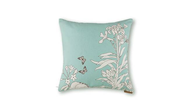 """Secret Garden Cushion Covers - Set Of 2 (18"""" X 18"""" Cushion Size, Butterfly Pattern) by Urban Ladder"""
