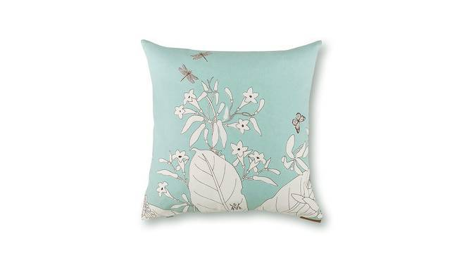 "Secret Garden Cushion Covers - Set Of 2 (18"" X 18"" Cushion Size, Dragonfly  Pattern) by Urban Ladder"
