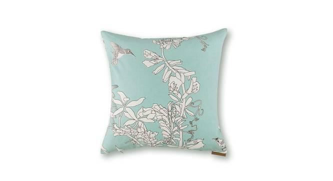 "Secret Garden Cushion Covers - Set Of 2 (18"" X 18"" Cushion Size, Humming Bird  Pattern) by Urban Ladder"