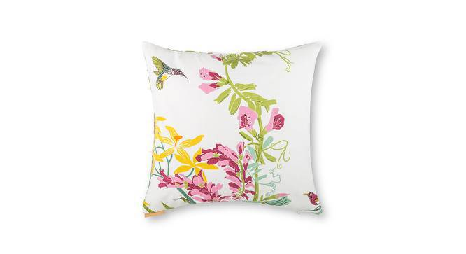 "Secret Garden Cushion Covers - Set Of 2 (18"" X 18"" Cushion Size, Snail  Pattern) by Urban Ladder"