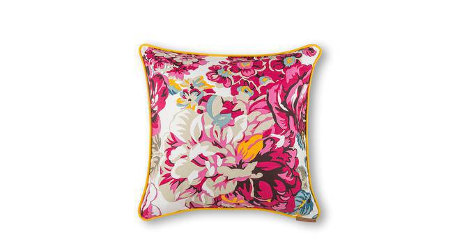 "Floral Fiesta Cushion Cover - Set Of 2 (18"" X 18"" Cushion Size, Dahlia Pattern) by Urban Ladder"
