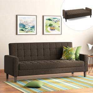 Salford Storage Sofa Bed (Brown) by Urban Ladder