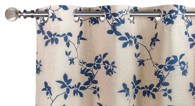 "Botanical Blueprint Window Curtains - Set Of 2 (54"" x 60"" Curtain Size, Branch) by Urban Ladder"