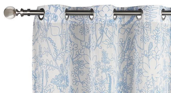 "Botanical Blueprint Window Curtains - Set Of 2 (54"" x 60"" Curtain Size, Imprint) by Urban Ladder"