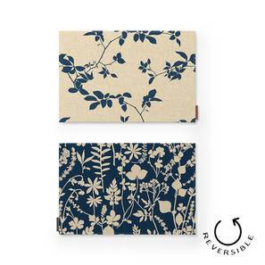 Botanical Blueprint Table Mats - Set Of 6 (Branch & Spring Pattern) by Urban Ladder