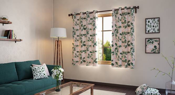 "Bloomingdale Window Curtains - Set Of 2 (54"" x 60"" Curtain Size, Decora) by Urban Ladder"