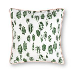 "Bloomingdale Cushion Cover - Set Of 2 (16"" X 16"" Cushion Size, Calathea Pattern) by Urban Ladder"