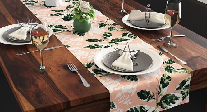 Bloomingdale Table Linen Set (Decora & Calathea Pattern) by Urban Ladder