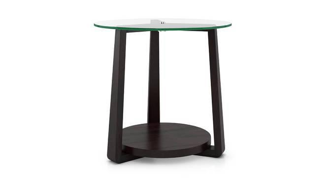 Jones Side Table (Mahogany Finish) by Urban Ladder