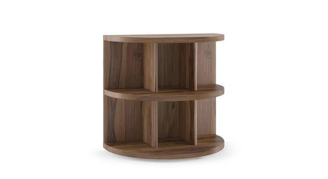 Newton Side Table (Teak Finish) by Urban Ladder