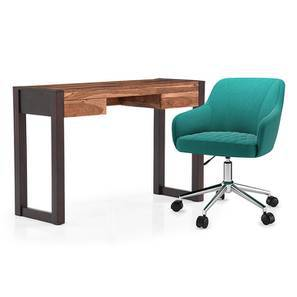Austen - Ferriss Study Set (Two-Tone Finish, Aqua) by Urban Ladder