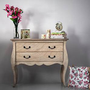 Lyon Chest of Drawers (Natural - Distressed Finish)
