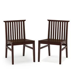 Angus Dining Chairs - Set Of 2 (Walnut Finish) by Urban Ladder