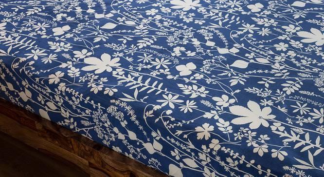 Botanical Blueprint Bedsheet Set (King Size, Spring Pattern) by Urban Ladder
