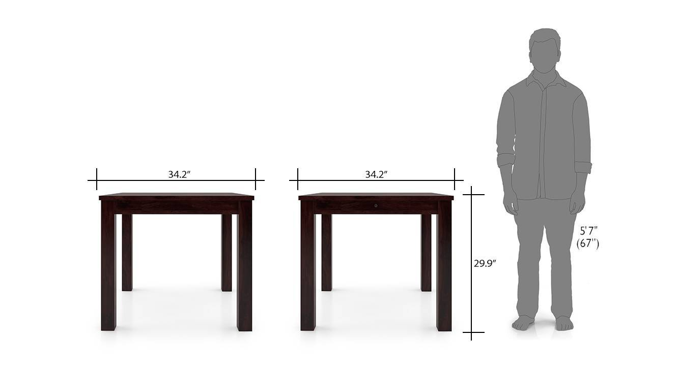 Arabia storage kerry 4 seater dining table set mh wb 8