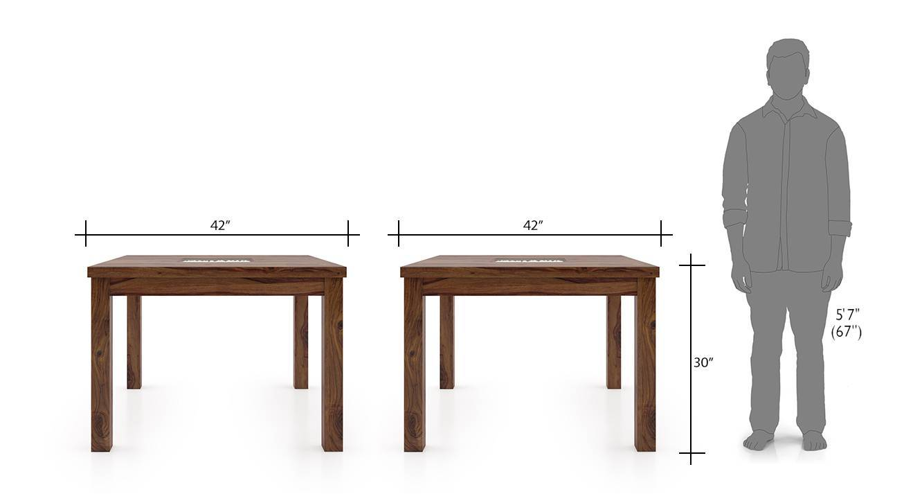 Brighton square kerry 4 seater dining table set tk wb 9