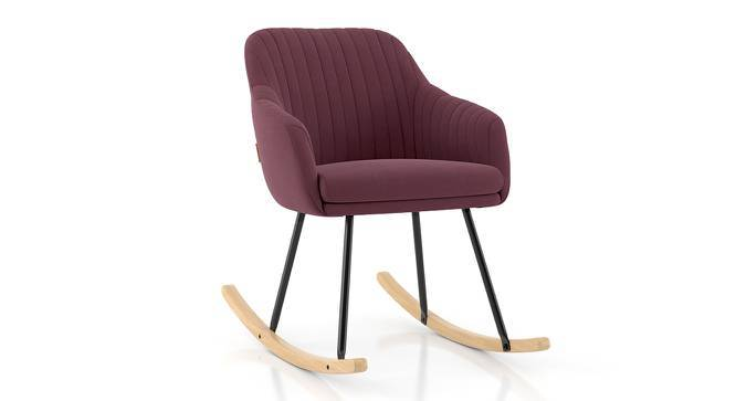Rochelle Rocking Chair (Purple) by Urban Ladder