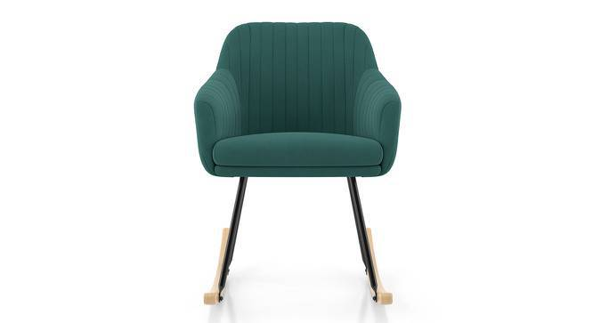 Rochelle Rocking Chair (Dark Aqua) by Urban Ladder