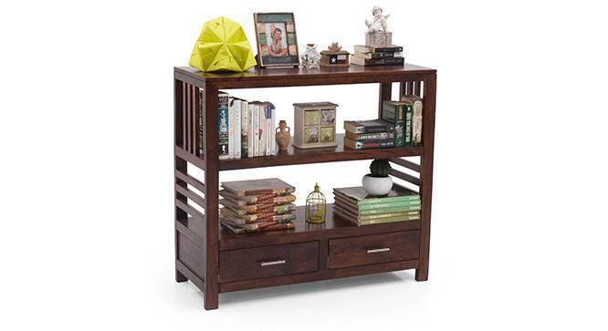 Carnegie Bookshelf/Display Unit (Walnut Finish) by Urban Ladder