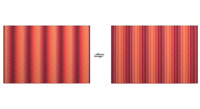 """Takashi (Red, 48"""" x 72"""" Carpet Size) by Urban Ladder"""