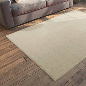 "Solway Dhurrie (Beige, 36"" x 60"" Carpet Size) by Urban Ladder"
