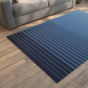 "Grevy Dhurrie (Blue, 36"" x 60"" Carpet Size) by Urban Ladder"