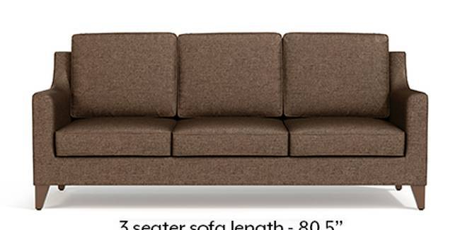 Greenwich Sofa (Mocha, Fabric Sofa Material, Regular Sofa Size, Soft Cushion Type, Regular Sofa Type, Master Sofa Component)