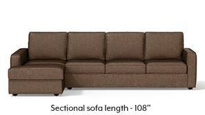 Apollo Sectional Sofa (Mocha)