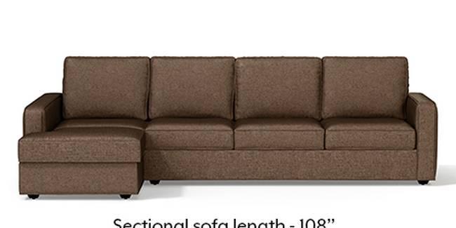 Superieur Apollo Sofa Set (Mocha, Fabric Sofa Material, Regular Sofa Size, Soft  Cushion