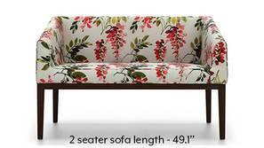 Orita Wooden Sofa (Carmine Cassia)