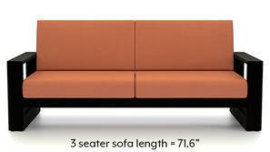 Parsons Wooden Sofa (Amber)